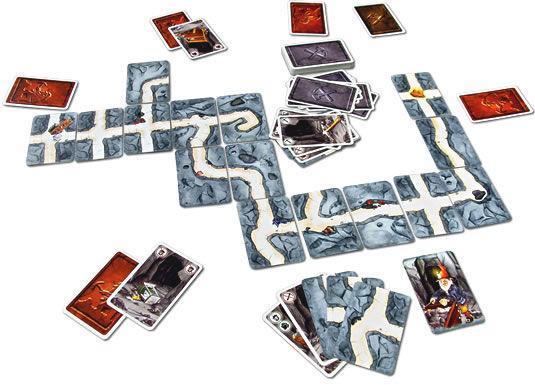 Настольная игра «Гномы-вредители» - проложить туннель к золоту наперекор всем
