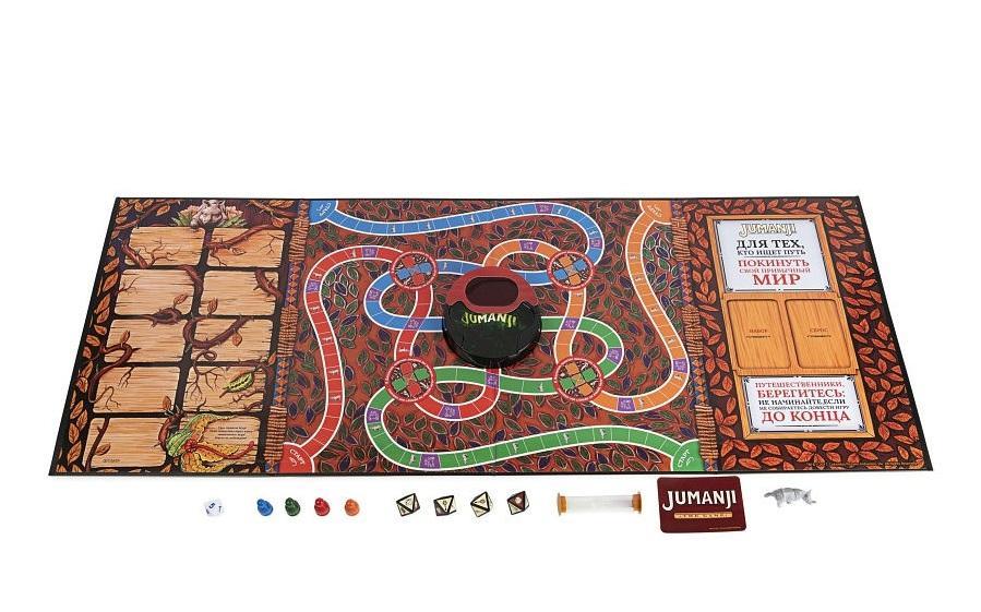 Настольная игра Джуманджи: веселые приключения в полных опасностей джунглях