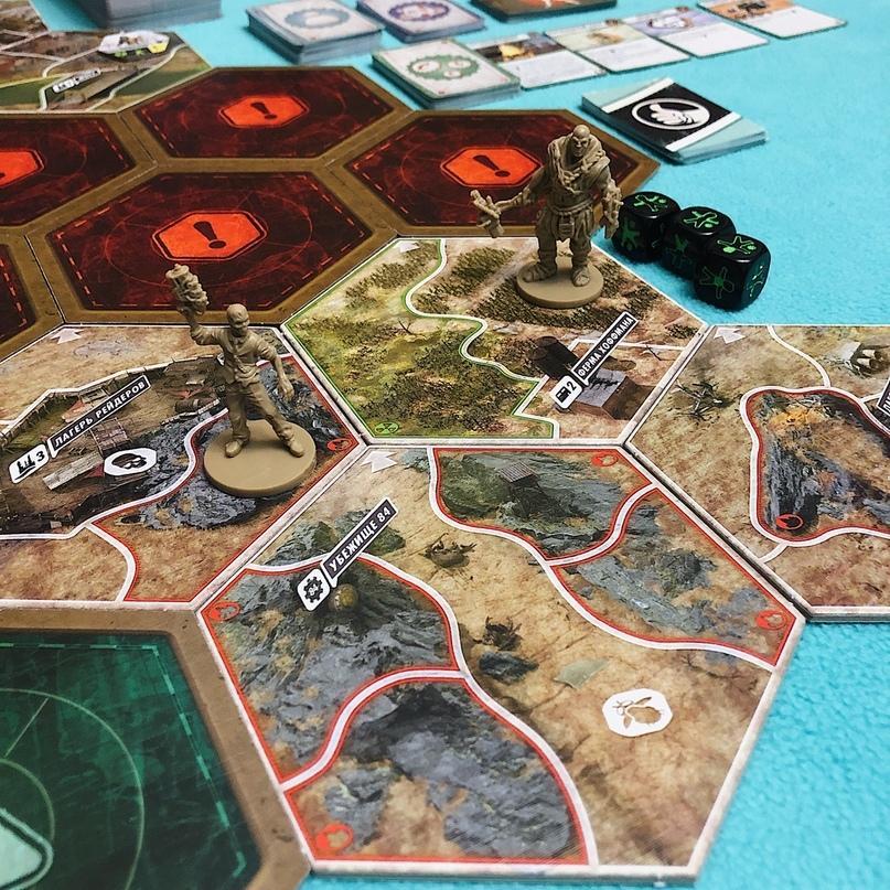 Настольная игра Фоллаут (Fallout) - как выжить в Пустоши и изменить постъядерный мир