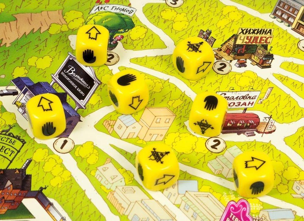 Настольная игра «Гравити Фолз»: провести лучшие летние каникулы