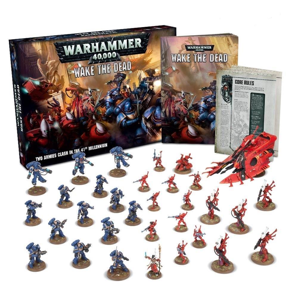 Настольная игра «Warhammer 40 000» - стань участником фантастических сражений на просторах галактики