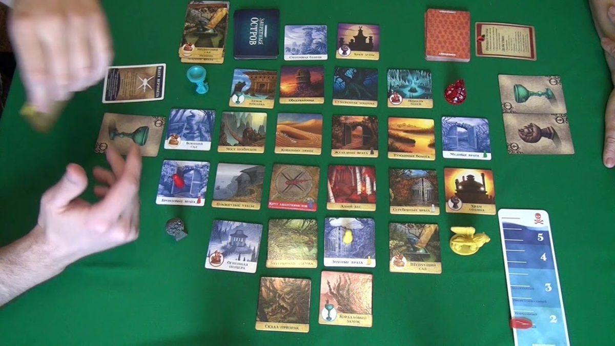 Настольная игра «Запретный остров»: спасите древние артефакты дружной командой