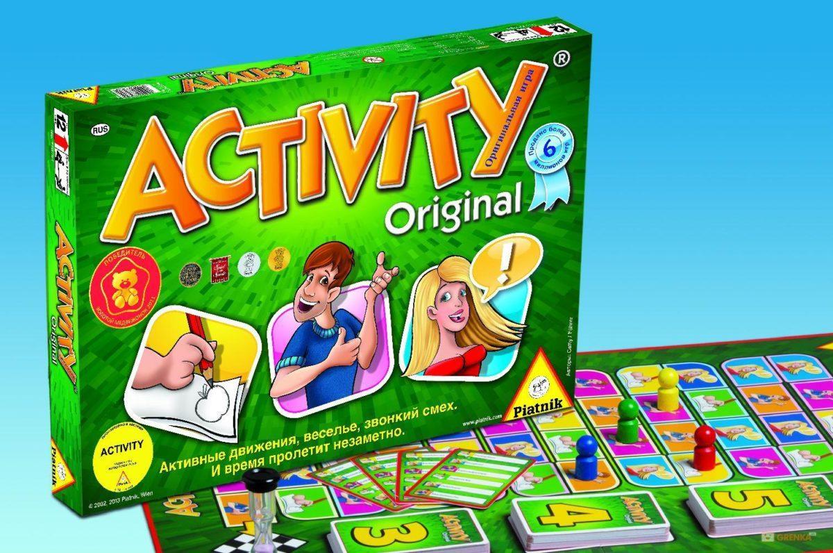 """Настольная игра """"Активити"""" - словесное развлечение для веселой компании"""