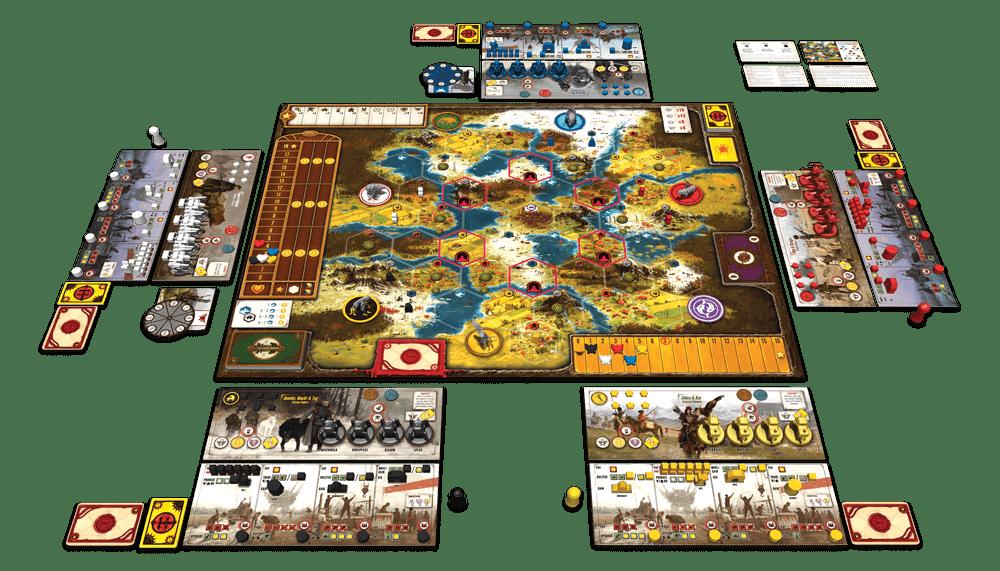 Настольная игра Серп: приведи свою нацию к господству в Восточной Европе