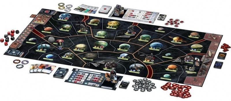 Настольная игра «Звёздные войны. Восстание» - стань участником жестокой схватки Альянса и Империи